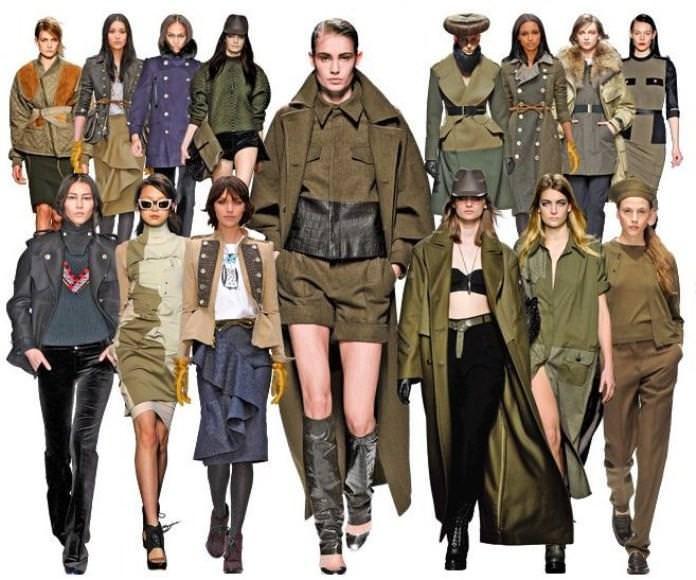 Женская Одежда В Силе Милитари
