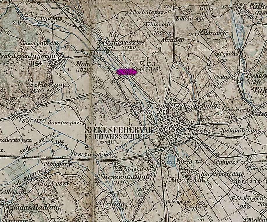 На карте генштаба(М1:200000)