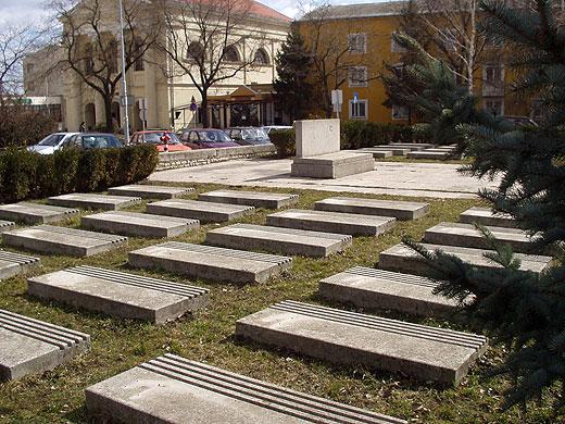 Братская могила воинов, умерших от ран в госпиталях в г троицке